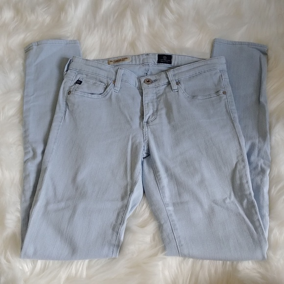 Ag Adriano Goldschmied Pants - Adriano Goldschmied Light Blue Legging Pants